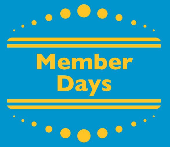 Member Days<br> July 1st - 31st <br> Three Rivers Market<br>