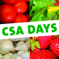 CSA Days<br>February 1st - March 31st<br> Three Rivers Market