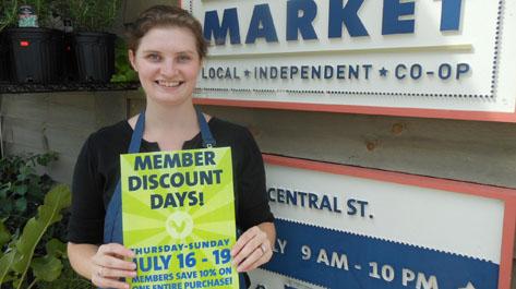 Member Discount Days
