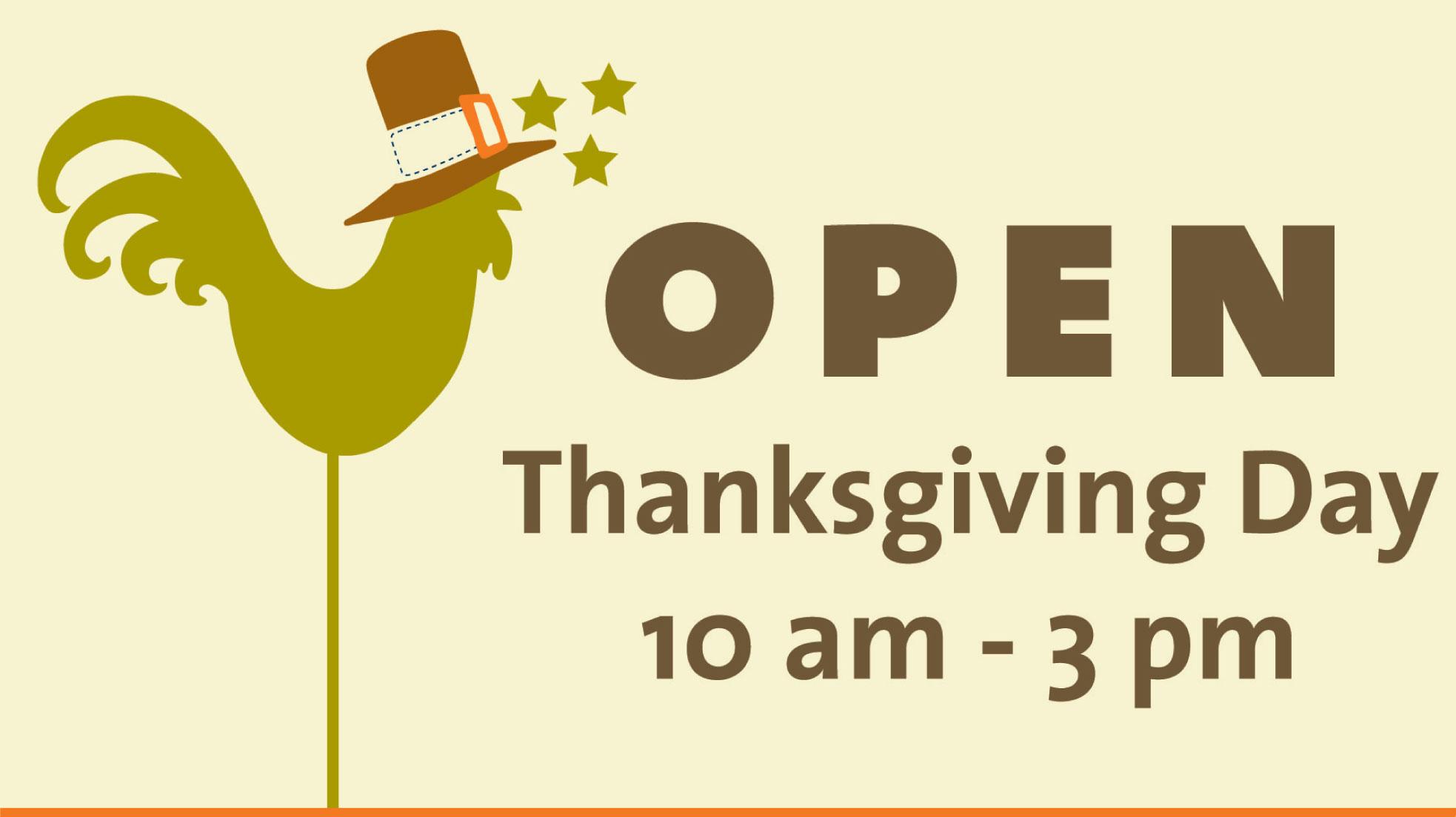 open thanksgiving