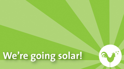 we're going solar!