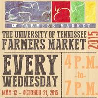 UT Farmers Market</br>May 13th - October 21st</br> UT Gardens