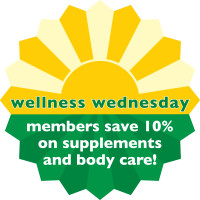 Wellness Wednesday</br>Every Wednesday<br> Three Rivers Market