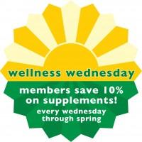 Wellness Wednesday<br>Every Wednesday <br> Three Rivers Market
