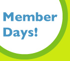 Member Days<br> August 1st - 31st <br> Three Rivers Market<br>