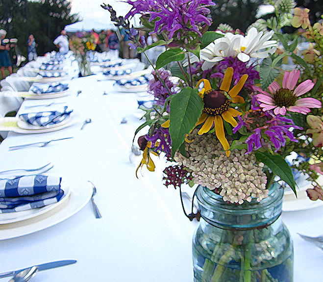 Summer Solstice Dinner <br> June 22 <br> 7 PM - 9 PM<br>Knoxville Botanic Garden and Arboretum<br>