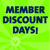 Member Discount Days<br>Jan 15th - 18th<br>Three Rivers Market