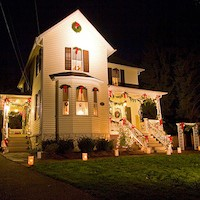Victorian Holiday Home Tour <br> Dec 5th - 6th<br> Historic Old North Knoxville Neighborhood
