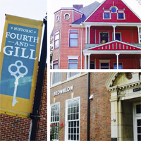 Fourth and Gill Tour of Homes<br>April 27<br>Fourth and Gill Neighborhood