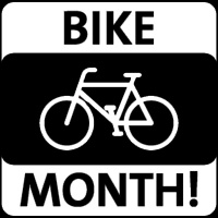 Bike Month <br> May <br> Three Rivers Market