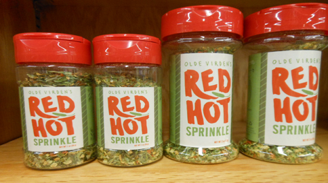 Olde Virden's Red Hot Sprinkle