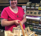 Turtle Mountain Herbs at the co-op