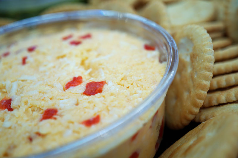 Pimento Cheese & Crackers