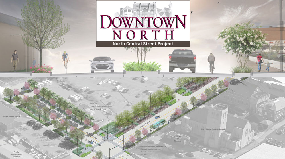 North Central Streetscape Project